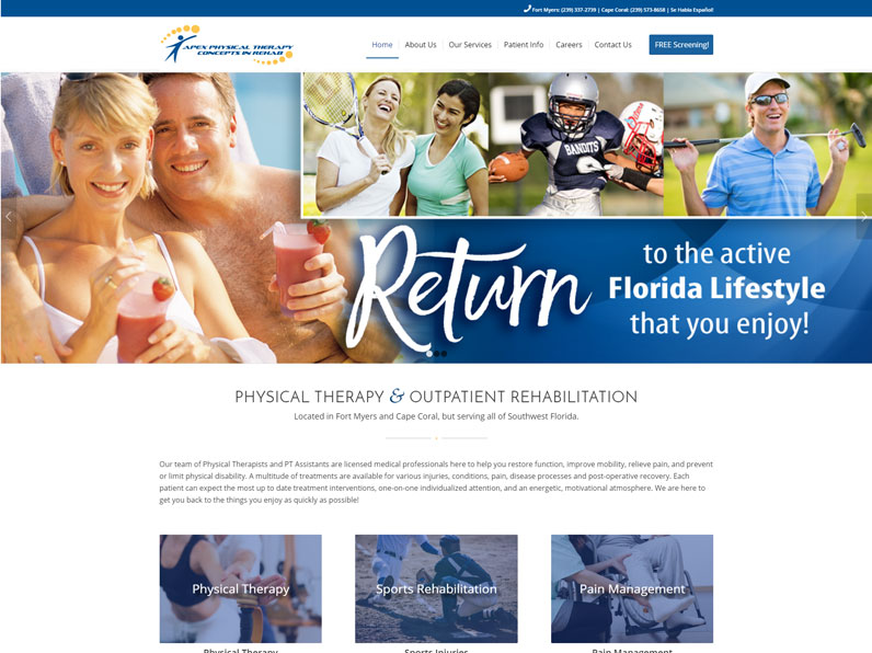 Apex | Website designed by E's Web Design in Fort Myers
